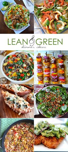 8 Lean & Green Dinner Ideas, Healthier Options for the Family | Our Holly Days