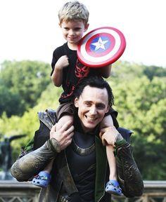 Loki & a little captain