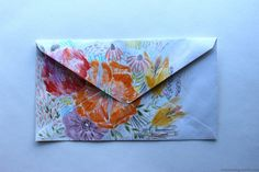 evercreating:   Original: I will always have such adoration for flowers and a strange fondness for envelopes.