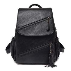 a0943de15193 2018 Fashion Women Leather Backpack High Quality Youth PU Leather Backpack  forintothea