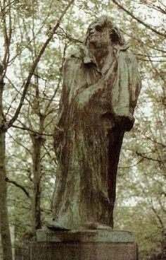 Balzac. Rodin. Boulevard Raspail.1897 bronze