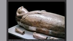 https://flic.kr/p/LAfaZj | 0887-0885 155d PHARAOHS OF EGYPT - Silver Outer Sarcophagus of SHESHONQ II, detail. Tanis. Egyptian Museum Cairo- photo Hans Ollermann 2016. | Discovered in the burial chamber of King Shesonq II as part of the tomb of King Psusennes I at Tanis. Pierre Montet's excavations, 1940. Dynasty 22, reign of Shesonq II, c. 883 BC.  Inv.nr. JE 72154. Egyptian Museum, Cairo.  Heqakheperre Shoshenq II, aka Shesonq II, was an Egyptian king of the 22nd dynasty of Egypt. He was…