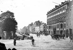 vintage everyday: Amazing Vintage Photos of Everyday Life in Dublin in the late 19th Century