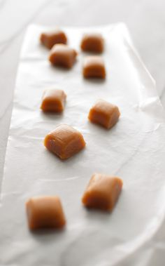 Homemade Caramels - yes, you can easily make candy at home! - Salt & Lavender