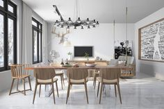 TOP 3 INDUSTRIAL STYLE DINNING ROOMS | Alessandro Romito Architetto