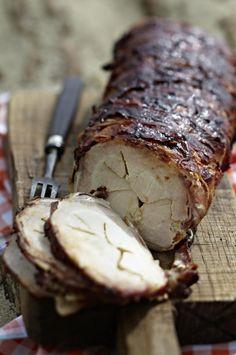 Unser beliebtes Rezept für Barbecue-Tennessee-Schweinerücken mit Bacon und mehr als 55.000 weitere kostenlose Rezepte auf LECKER.de.