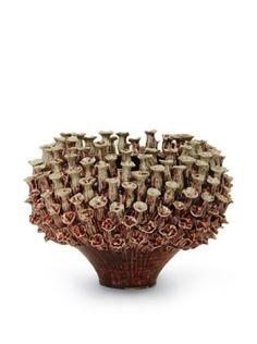 53% OFF Palecek Tube Coral Vase