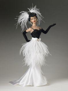 Poupée - robe de style '20-30s