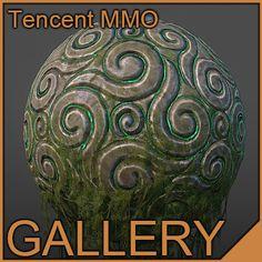 2010 Chinese MMO, Justin Meisse on ArtStation at https://www.artstation.com/artwork/resurrection-shrine