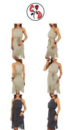 Rochie - Voyelles. Colectie:Primavara/Vara Sex:Femeie Tipuri:Rochie Maneci:scurte Decolteu:amplu Compozitie:poliester 100% Spalare:la 30° C Inaltime model, cm:169 Marime articol imbracaminte in poza:S #100200Lei #100200 #Bej #Femeie #Imbracaminte #L #M #Negru #Poliester #Primavara/Vara #Rochii #S #Voyelles #Voyelles Two Piece Skirt Set, Skirts, Model, Dresses, Fashion, Vestidos, Moda, Skirt