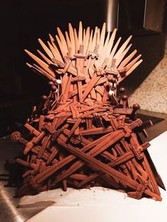 Holy Crap That Gingerbread Iron Throne is Most Impressive! [Pic]