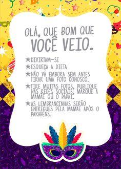 Fantasy Party, Alice, Carnival, Carnival Birthday Parties, Carnival Decorations, Carnival Invitations, Short Stories, Mardi Gras, Carnivals