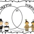 Enjoy this Venn Diagram I made to help my students compare and contrast Pilgrims & Indians.  I pull mine up on my Promethean Board to use as a ...