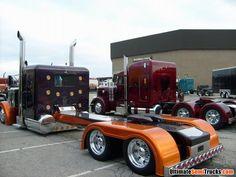 Peterbilt custom stainless rear end from the 2008 Mid America Truck Show Show Trucks, Big Rig Trucks, Old Trucks, Vintage Trucks, Peterbilt 359, Peterbilt Trucks, Custom Peterbilt, Custom Big Rigs, Custom Trucks