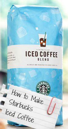How to Make Starbucks Iced Coffee Dunkin Donuts Coffee, Starbucks Iced Coffee, I Love Coffee, Hot Coffee, Coffee Club, Coffee Mugs, Sugar Free Vanilla Syrup, Coffee Reading, Coffee Subscription