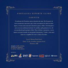 Convite Lançamento 3 uniforme - Loja virtual do Fortaleza Esporte Clube.