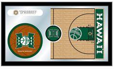 Basketball Mirror - University of Hawaii