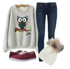 Untitled #368 by alliedrover on Polyvore featuring polyvore, fashion, style, rag & bone, Vans, Inverni and clothing