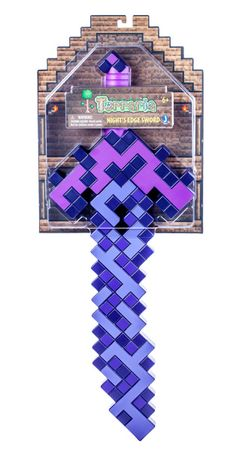 Night's Edge Sword - The Terraria Night's Edge Sword is 24-Inches long and is the perfect addition to any Terraria fan's collection to bring to battle. 7th Birthday, Birthday Parties, Crochet Lego, Playstation, Xbox, Minecraft Sword, Magic Design, Bouncy Castle, Christmas In July