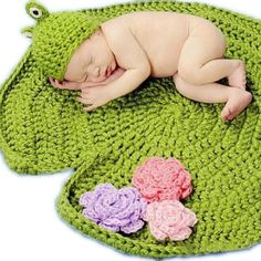 Newborn Baby Frog Photo Props Green Crochet Knitting Baby Blanket Hat Knitted Photography Prop Wholesale Online Kids Hair Accessories Baby Hair Accessories From Youlife_virgin_hair, $5.98| Dhgate.Com