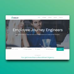 The idea with this site was that Modulent could post jobs and receive CV's. Website Sample, Job Website, Website Themes, Website Ideas, Free Website Templates, Recruitment Agencies, Job Posting, Business Design, Web Development