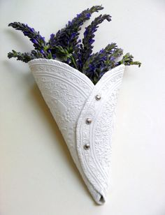 Air Hardening Clay Craft Idea - Learn how to make these beautiful diy clay cones in easy step by step tutorial.