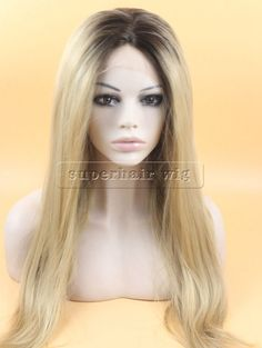 Fashion new Ombre Wig Brown Blond Two Tone Synthetic lace front Wig Wavy Kanekalon Natural Wig Ombre Lace Front Wig-in Synthetic Wigs from Health & Beauty on Aliexpress.com | Alibaba Group