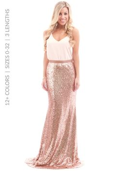 13 Best Rose gold skirt images  85e69410e