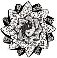 trippy flower doodles - Google Search