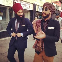 Babbu and Jus Reign (jasmeet singh). Sikh. Canadians. Comedians, actors, musicians. https://www.youtube.com/user/JusReign