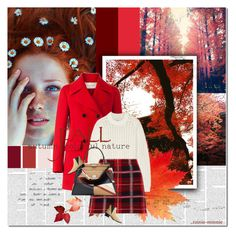 """""""Red Autumn in Kyoto"""" by rainie-minnie ❤ liked on Polyvore featuring Valentino, 3.1 Phillip Lim, Miu Miu, Fendi and Acne Studios"""