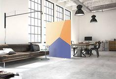 Akustik Raumteiler Mit Design Suna, Sehr Schön Für Eine Optische Und  Akustische Verbesserung Im Wohnzimmer