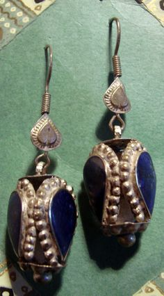 Antique Handcrafted Turkish Tribal Earrings by EveGorgeous on Etsy, $338.00