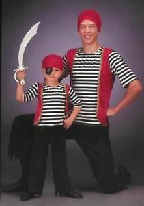 Buccaneer-PIRATE-Halloween-Costume-Dance-Boy-Men-AM-CM