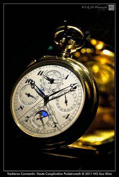 Still Life - Vacheron Constantin: Haute Complication Pocket-watch by SKHO , via Flickr