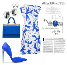 """fly!"" by agnesmakoni ❤ liked on Polyvore featuring Vivienne Westwood Red Label, Ted Baker, Roberto Cavalli and Versus"
