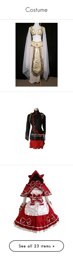 """""""Costume"""" by laughing-alec75 on Polyvore featuring costumes, adult goddess costume, jasmine halloween costume, princess jasmine adult costume, belly dancer costume, adult costumes, role play costumes, cosplay costumes, cosplay halloween costumes and lolita"""
