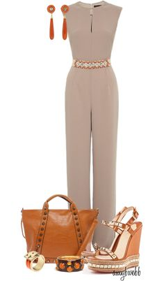 """Jumpsuit Contest 1"" by amybwebb ❤ liked on Polyvore"