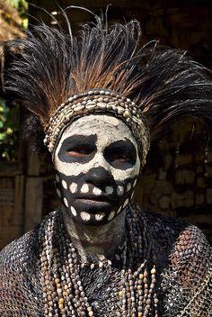 Skeleton tribe - Chimbu | Flickr - Photo Sharing!