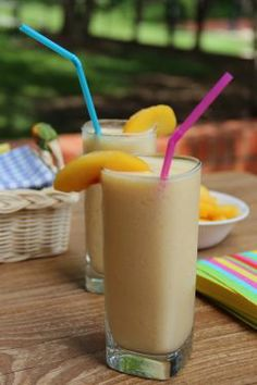 Hamilton Beach's Peach Smoothie recipe and other delicious smoothie recipes can be found on hamiltonbeach.com