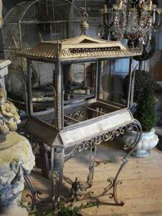 French church display stand