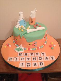 Science Chemistry Cake by Rhian's Cakes
