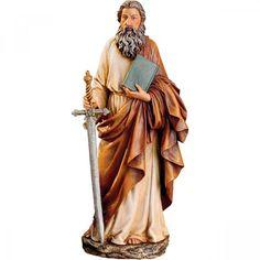 "St Paul Statue 10.5"""