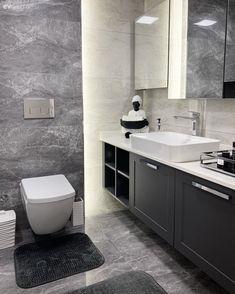 Fitted Wardrobes, Lounge Areas, Minimalist Decor, Bathroom Interior Design, Apartment Design, New Furniture, Double Vanity, Toilet, House Design