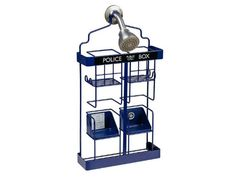 Is your shower boring, or do you own a shower caddy as awesome as this?