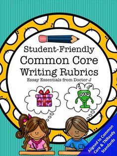 FREE Student-Friendly Common Core / TNReady Writing Rubrics for Peer- and Self-Editing; 3rd 4th 5th Grade