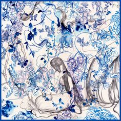 Lane Crawford BLITZ is thrilled to host acclaimed visual artist, James Jean (December 2010 cover artist) to Hong Kong this to October. Anton, Ceiling Murals, Digital Ink, American Artists, Painting & Drawing, Silk Painting, Les Oeuvres, Fantasy Art, Concept Art