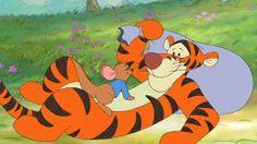 Tigger and Roo Tigger And Pooh, Winne The Pooh, Winnie The Pooh Friends, Pooh Bear, Eeyore, Disney Winnie The Pooh, Disney Love, Cartoon Pics, Cartoon Characters