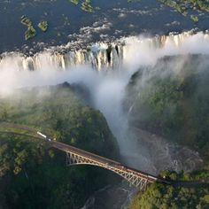 Will see Victoria Falls (Mosi-oa-Tunya- Smoke that Thunders) in honor of Elsie and the first postcard she ever sent me (inside joke)!
