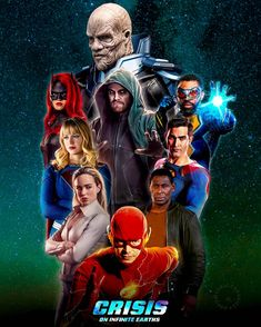 Infinite Earths, Crossover, Tv Shows, Fan Art, Superhero, Movies, Movie Posters, Character, Instagram